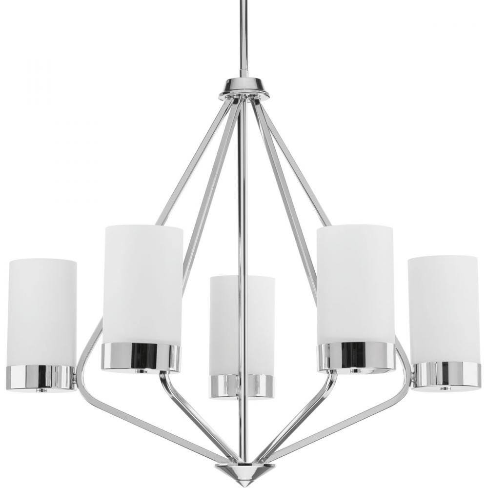 5 lt polished chrome chandelier 1ve8k royal lighting 5 lt polished chrome chandelier arubaitofo Images